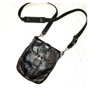 Coach Cross Body Messenger Style Bag